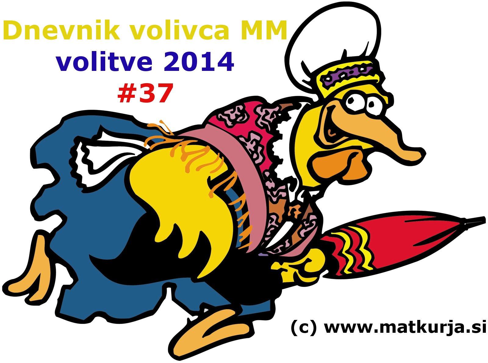 Dnevnik volivca 037 - Dnevnik volivca MM (volitve 2014) – #37